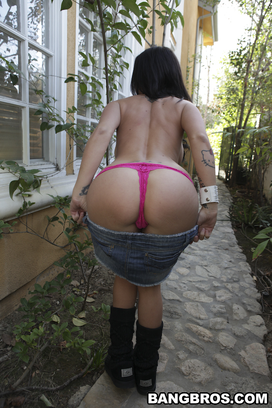 Brandy Aniston Thong Panties